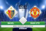 Basel 1-0 MU: Thua dau phut chot, Quy do chua the hoan tat vong bang