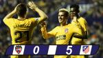 Levante 0-5 Atletico Madrid: Man bung no kho tin