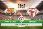 Barcelona 2-1 Sevilla (KT): Sao la toa sang