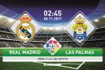 Real Madrid 3-0 Las Palmas (KT): Ronaldo tit ngoi, Los Blancos van giai toa suc ep