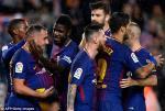 Tong hop: Barca 2-1 Sevilla (Vong 11 La Liga 2017/18)