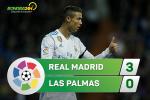 Tong hop: Real Madrid 3-0 Las Palmas (Vong 11 La Liga 2017/18)