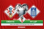 Croatia 4-1 Hy Lap: Thang to, chu nha tien gan den VCK World Cup 2018