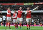 Arsenal thang hoa nho diem tua hang thu