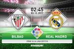 Bilbao 0-0 Real Madrid (KT): Ronaldo bat luc, Los Blancos bat thang