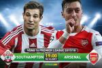 Southampton 1-1 Arsenal (KT): Sieu du bi Giroud lai cuu roi Phao thu