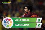 Tong hop: Villarreal 0-2 Barca (Vong 15 La Liga 2017/18)