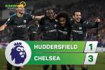 Tong hop: Huddersfield 1-3 Chelsea (Vong 17 Premier League 2017/18)