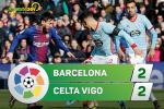 Tong hop: Barca 2-2 Celta Vigo (Vong 14 La Liga 2017/18)