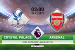 Crystal Palace vs Arsenal (3h00 ngay 29/12): Pha dop san khach