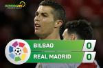 Tong hop: Bilbao 0-0 Real Madrid (Vong 14 La Liga 2017/18)