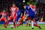 Cham diem Chelsea 1-1 Atletico: Diem den hang cong