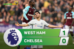Tong hop: West Ham 1-0 Chelsea (Vong 16 Premier League 2017/18)