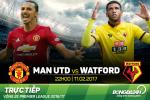MU 2-0 Watford (KT): Martial choi sang lam lu mo tat ca