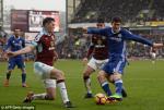 Tong hop: Burnley 1-1 Chelsea (Vong 25 NHA 2016/17)