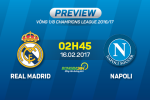 Real Madrid vs Napoli (2h45 ngay 16/2): Cuoc chien cua hai ky luc gia