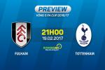 Fulham vs Tottenham (21h00 ngay 19/2): Da tu rat lau roi