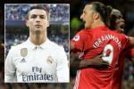 Ibrahimovic can bang thanh tich cua Cris Ronaldo tai M.U