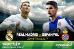Real Madrid 2-0 Espanyol (KT): Ronaldo van cam lang, Bale no sung ngay man tai xuat