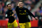 Gijon 1-4 Atletico Madrid: Hattrick de doi cua Gameiro