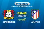 Giai ma tran dau Leverkusen vs Atletico 02h45 ngay 22/2 (Champions League 2016/17)