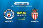 Man City vs Monaco (2h45 ngay 22/2): Tuong vay ma chang phai vay