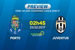 Porto vs Juventus (2h45 ngay 23/2): Bay rong
