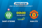 St.Etienne vs MU (0h00 ngay 23/2): Man tong duyet cua Mourinho