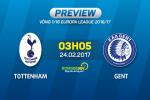 """Tottenham vs Gent (03h05 ngay 24/2): Khi """"Ga trong"""" ton thuong"""