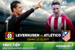 Leverkusen 2-4 Atletico (KT): Cac chien binh thanh Madrid nao loan nuoc Duc