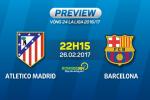 Atletico Madrid vs Barca (22h15 ngay 26/2): Lan dau cung la lan cuoi