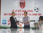 HLV Nguyễn Minh Phương chính thức ra mắt CLB Long An, muốn làm gỏi HAGL
