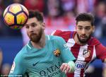 Tong hop: Atletico Madrid 1-2 Barca (Vong 24 La Liga 2016/17)