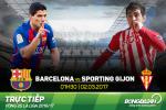 Barca 6-1 Gijon (KT): Dao choi danh tennis tren Nou Camp va len dinh La Liga