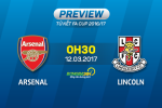 Arsenal vs Lincoln (0h30 ngay 12/3): Con dien cua Phao thu