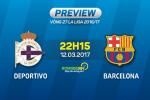 Deportivo vs Barca (22h15 ngay 12/3): Nhe nhang vuot ai Riazor