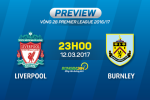 Liverpool vs Burnley (23h00 ngay 12/3): Tran chien cam go