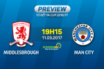 Middlesbrough vs Man City (19h15 ngay 11/3): Qua khu va hien tai