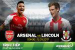 TRUC TIEP Arsenal vs Lincoln 0h30 ngay 12/3 (Tu ket FA Cup 2016/17)