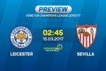 Leicester vs Sevilla (2h45 ngay 15/3): Khong thanh cong cung thanh nhan…