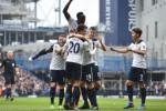 Mot so thong ke dang chu y sau tran Tottenham 6-0 Millwall