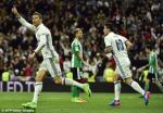 Tong hop: Real Madrid 2-1 Betis (Vong 27 La Liga 2016/17)