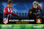 Atletico 0-0 (4-2) Leverkusen (KT): Khong bat ngo