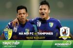 Ha Noi 4-0 Tampines (KT): Nghien nat vi khach yeu bong via