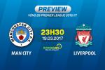 Giai ma tran dau Man City vs Liverpool 23h30 ngay 19/3 (NHA 2016/17)