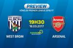 West Brom vs Arsenal (19h30 ngay 18/3): Khi niem tin tro lai
