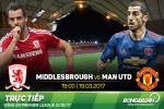 TRUC TIEP Middlesbrough vs MU 19h00 ngay 19/3 (Vong 29 NHA 2016/17)