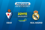 Eibar vs Real Madrid (22h15 ngay 4/3): Biet dau bat ngo