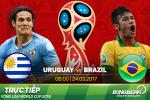 Uruguay 1-4 Brazil: Cu hattrick kho tin cua sao la Paulinho