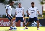 Aguero va Marcos Rojo chac suat da chinh trong mau ao DT Argentina